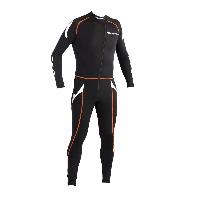 Sottotuta Ixon Race Body Nero