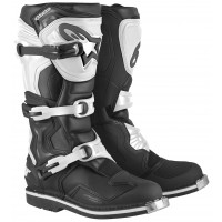 Stivali Cross Alpinestars Tech 1 nero bianchi