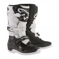 Stivali cross bambino Alpinestars Tech 7S Nero Bianco