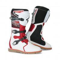 Stivali moto off road Stylmartin Impact Pro bianco rosso