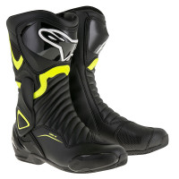 Stivali moto racing Alpinestars SMX6 V2 Nero Giallo