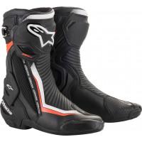Stivali racing Alpinestars SMX PLUS V2 Nero Bianco Rosso
