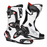 Stivali racing Sidi Mag 1 Air bianco nero