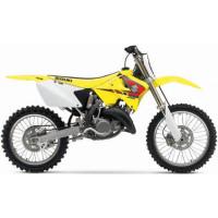 Kit plastiche moto Ufo Suzuki RM 125-250cc 03-05 Nero