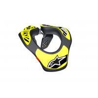 Supporto collo bambino Alpinestars Youth Neck Support nero giallo fluo