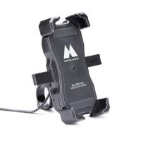 Supporto per smartohone da manubrio Midland MH-PRO WC caricatore wireless