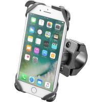 Supporto porta IPhone 7 Plus Cellular Line Moto Cradle per manubri tubolari