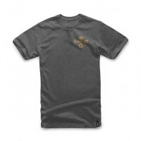 T-shirt Alpinestars Andres TEE charcoal heather