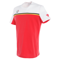 T-shirt Dainese Fast 7 bianco rosso