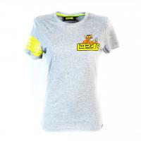 T-Shirt donna Lorenzo Dalla Porta WT02 Grigio Melange