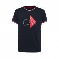 T-shirt Vespa Modernist Blu