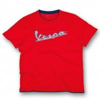 T-Shirt Vespa Original rosso