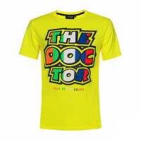 T-Shirt VR46 STRIPES THE DOCTOR Giallo