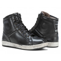Scarpe moto pelle Carburo Urban WP Nero