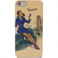 Cover rigide con fantasia Vespa Paris Iphone5 Cellular Line