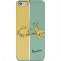 Cover rigide con fantasia Vespa Bicolore Iphone5 Cellular Line
