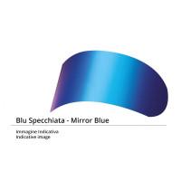 Visiera blu specchiato tipo ZR S.ADS Arai SZ RAM III - SZ RAM 4 - SZ-F