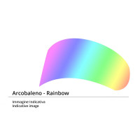 Visiera Street 5 antigraffio iride multicolore per caschi Agv