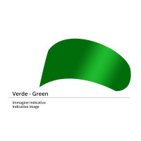 Visiera verde Icon per Airframe e Alliance