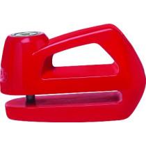 Bloccadisco con Allarme Abus Detecto 7000 RS1 rosso per ciclomotori e scooter