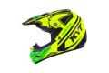 KYT cross helmet Cross Over Ktime yellow green fluo