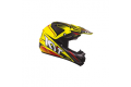 KYT cross helmet Cross Over Power black fluo yellow