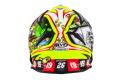 KYT cross helmet Strike Eagle Roulette fiber