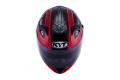 KYT full face helmet Venom Strike black red fluo