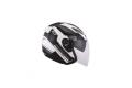 KYT jet helmet Hellcat GX-S white gun metal