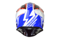 Just1 cross helmet J32 Rave red blue