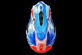 Just1 cross helmet J12 Dominator carbon white red blue