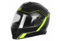 Origine modular helmet Delta Motion black lime matt