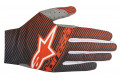 Alpinestars cross gloves Dune 2 orange fluo dark blue
