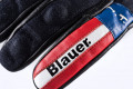 Blauer leather summer gloves Combo Carbon Denim Usa black