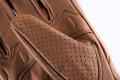 Blauer leather summer gloves Combo Denim brown