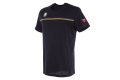 Dainese T-shirt Fast 7 black gold