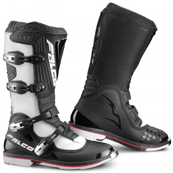 Boots Falco cross Dust LS White Black