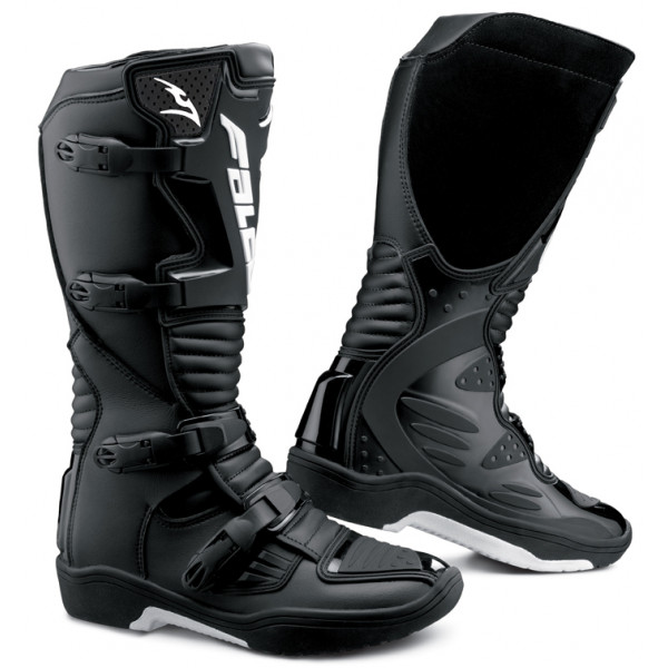 Cross Boots Black Falco Drake