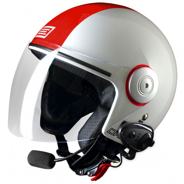 Source jet helmet with intercom Ready Arena Kie
