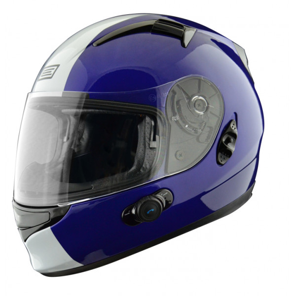 Full face helmet with intercom Origin Wind 2 Tony Blinc G2 Blue