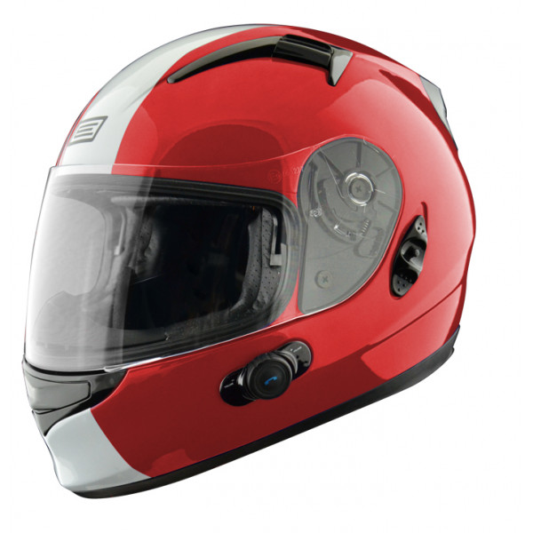 Full face helmet with intercom Origin Wind 2 Tony Ross Blinc G2