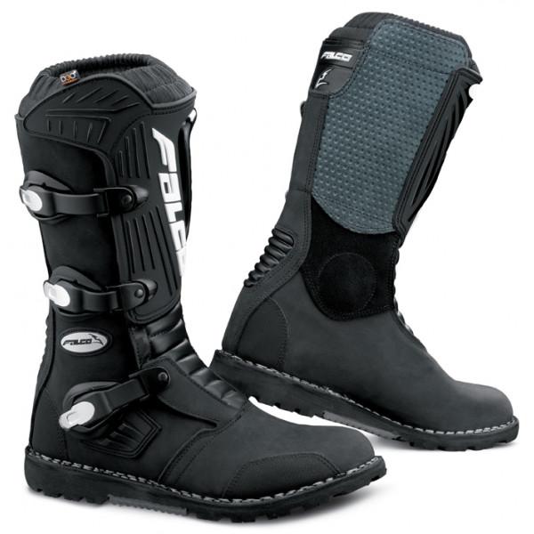 Falco Cross Edge Pro Leather Boots Black