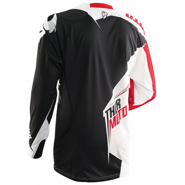 Thor Core Razor jersey red white black