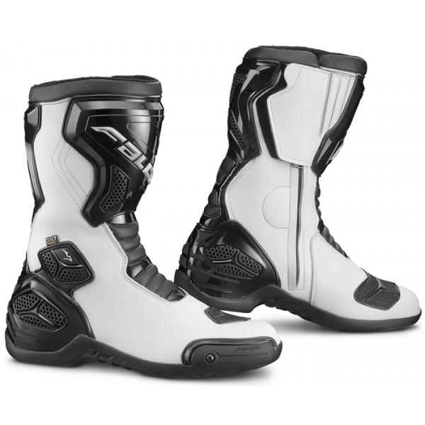 Motorcycle Boots Falco Oxigen 2 WTR Black White