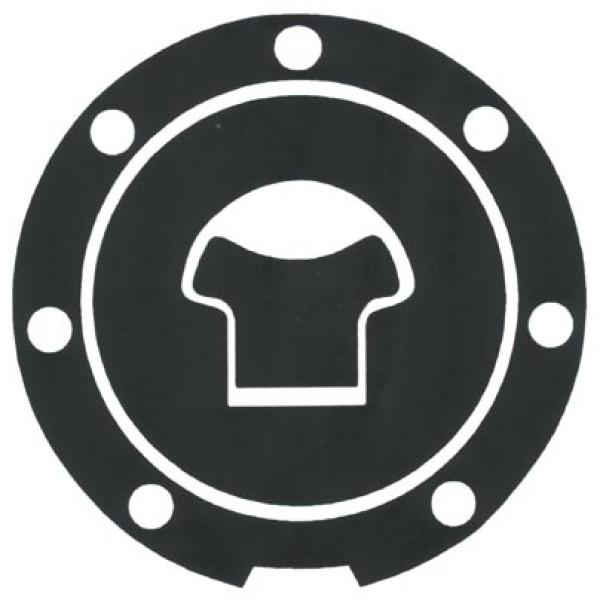 Adhesive resin tank cap protectors Honda Progrip Carbon