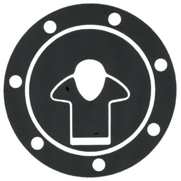 Adhesive resin Kawasaki Progrip tank protector cap Carbo
