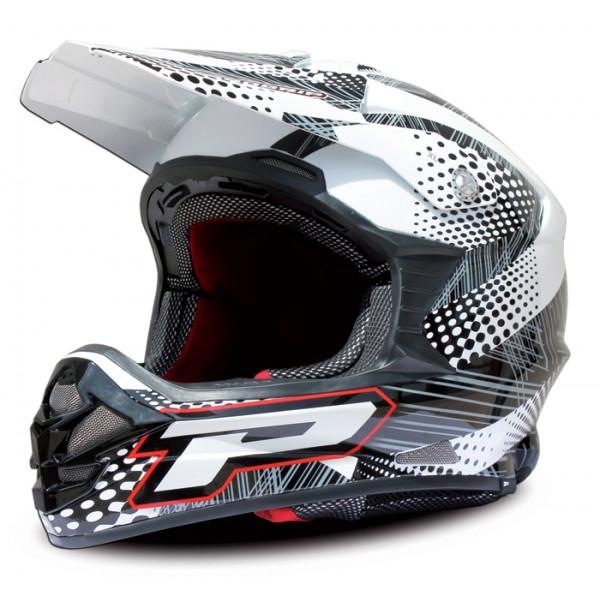 Cross helmet Progrip tri compound Bubbles