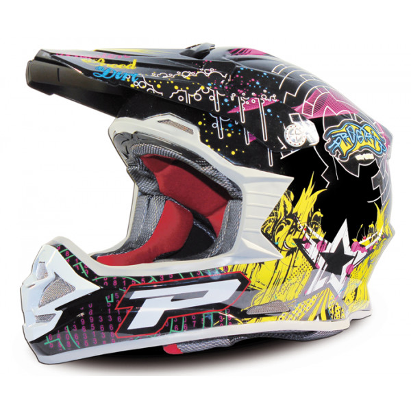 Cross helmet Progrip tri compound Multicolor