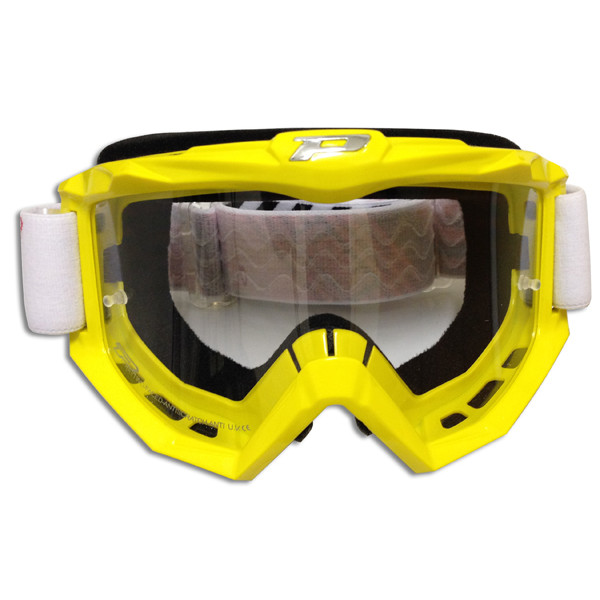 Goggles Progrip pass line Yellow Race