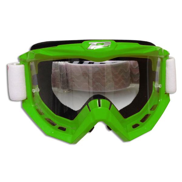 Goggles Progrip cross line Green Race